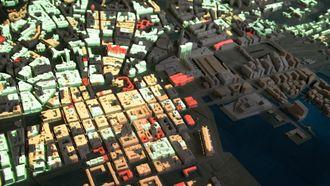 Detaljer fra Oslo sentrum.
