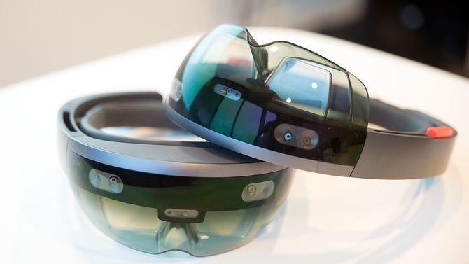 Slik ser Microsoft Hololens-brillene ut.