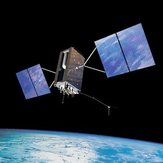En GPS Block IIIA-satellitt.