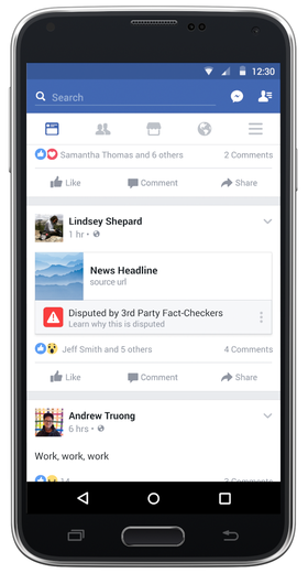 Muligheten til å merke omstridte saker er blant Facebooks nye tiltak.