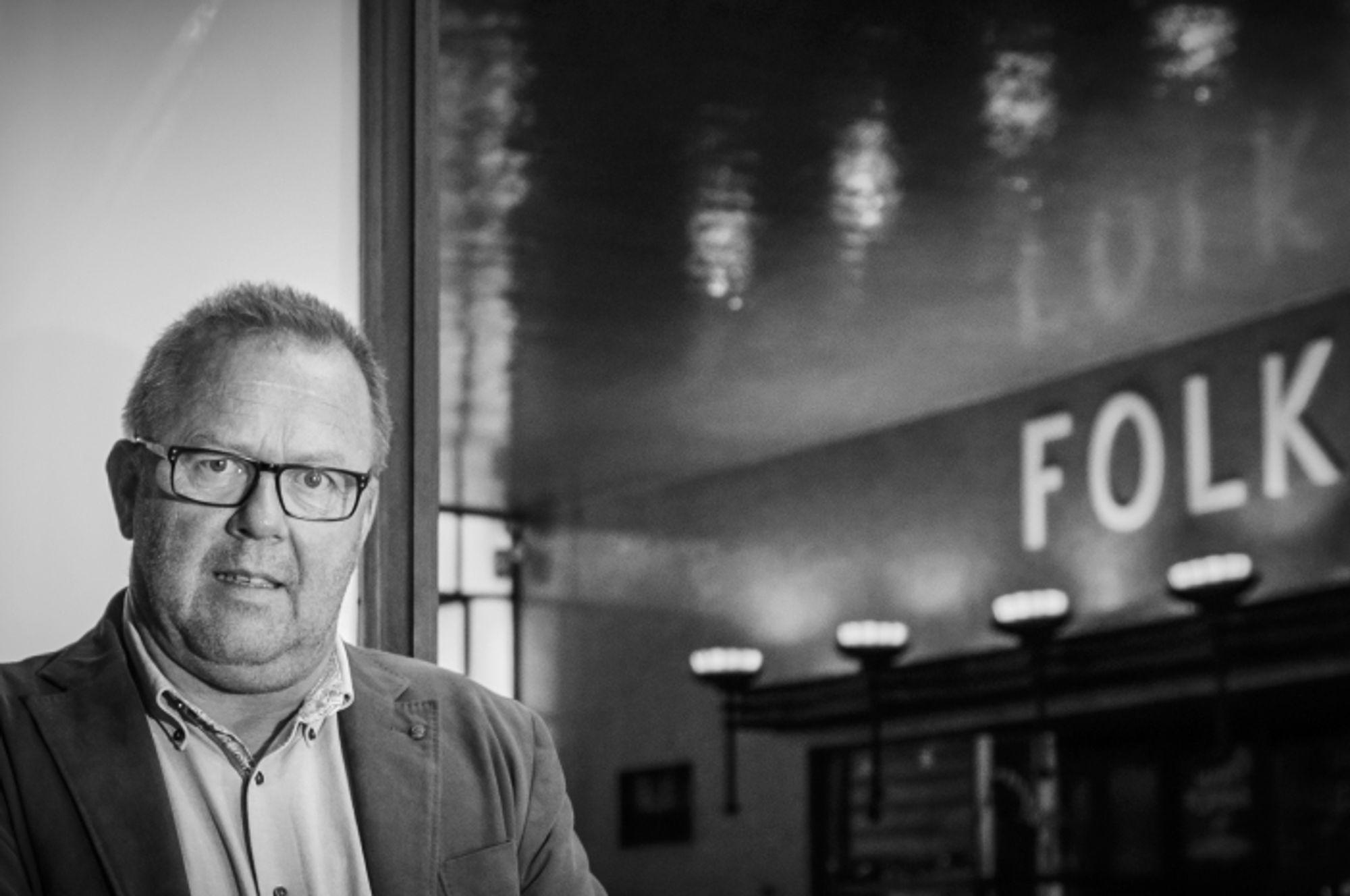 Jan Olav Andersen er forbundsleder i El og IT Forbundet. Han sier at fagforeningen er i gang med en stor verveoffensiv i IT-bransjen for å sikre flere ansatte kollektive rettigheter.