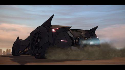 Telltale gjør det meste rett med sin versjon av Batman. Se bare på Batmobilen!