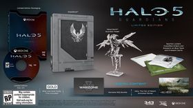 Halo 5: Guardians Limited Edition.