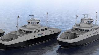 Fjord1 velger norsk verft til sine tre nye el-ferger