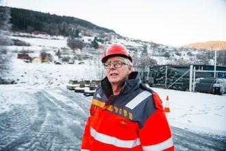 Prosjektleder i Vegvesenet Lars Magnar Røneid.