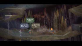 Oxenfree er et dialogbasert eventyrspill.