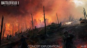 Heftig artilleri og påfølgende skogbranner vil også være med i They Shall Not Pass.