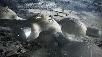 ESA tror det kan være mulig å etablere en permanent base på månen. Dette kan skje i tunneler som det har vært lava i tidligere. Slangeroboter kan undersøke mulighetene nærmere.
