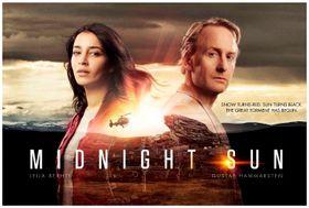 """Slik ble """"Midnattssol""""-serien pushet på Midcom-messen i Cannes tidligere i høst."""