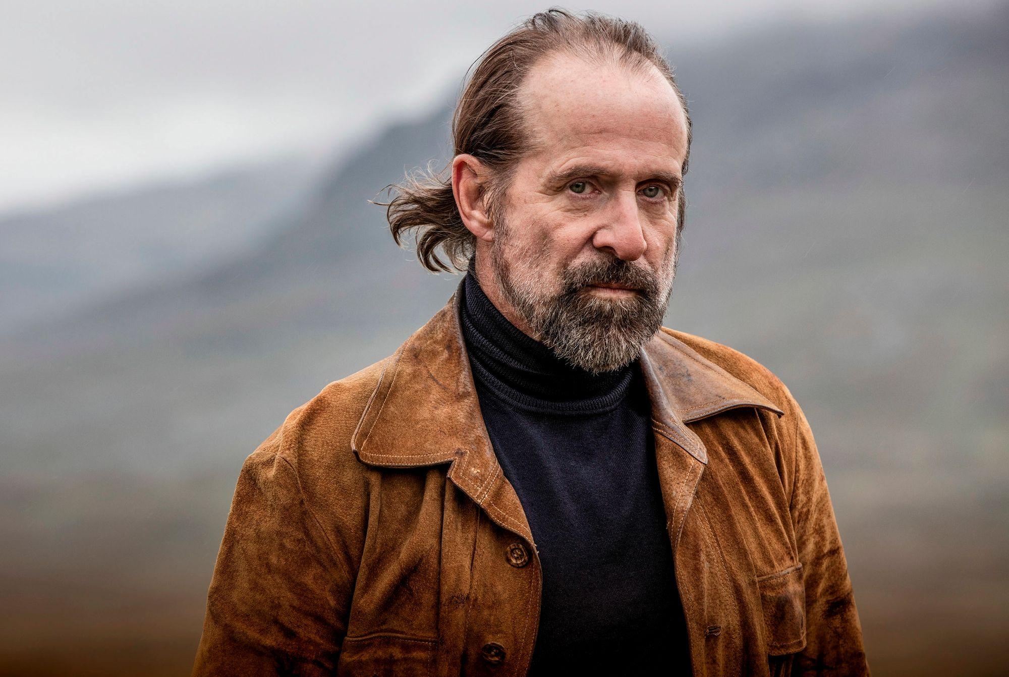 """Peter Stormare spiller karakteren Burlin i """"Midnattssol""""."""
