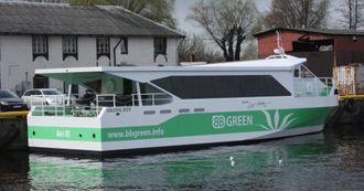 BB Green-prosjektet har som mål å lage batteridrevne passasjerbåter for 25-30 knop, med god plass til passasjerer og sykler.
