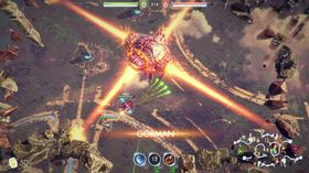 Sky Fighter Legends blander MOBA-elementer og «twin stick»-skyting.