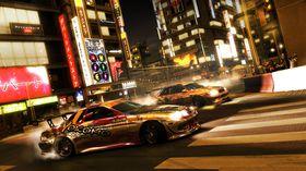 I GRID fikk man blant annet råne i Tokyos gater.