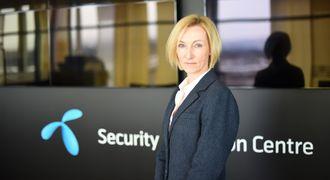 Hanne Tangen Nilsen, sikkerhetsdirektør i Telenor Norge.