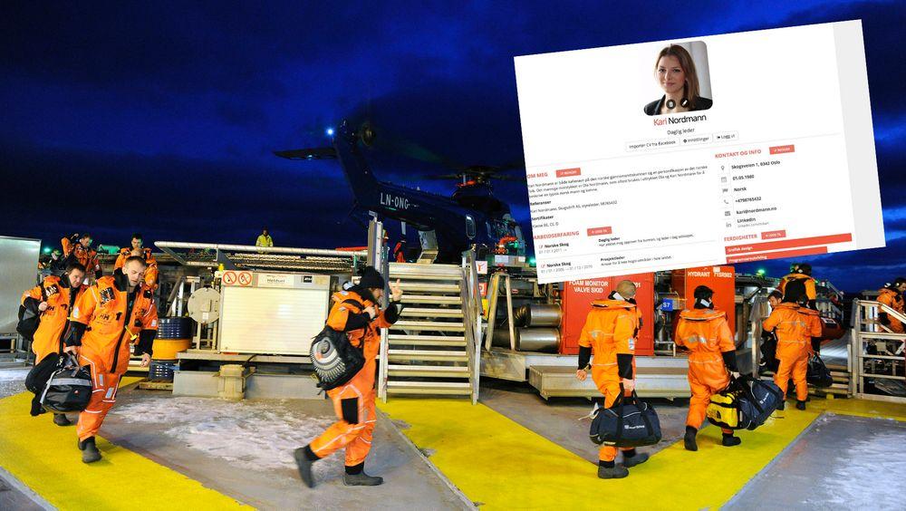 En rekke oljearbeidere har mistet jobben de siste årene. Mange går fortsatt uten jobb. En ny løsning for CV-ern skal gjøre det enklere for de som aldri har skrevet CV før.