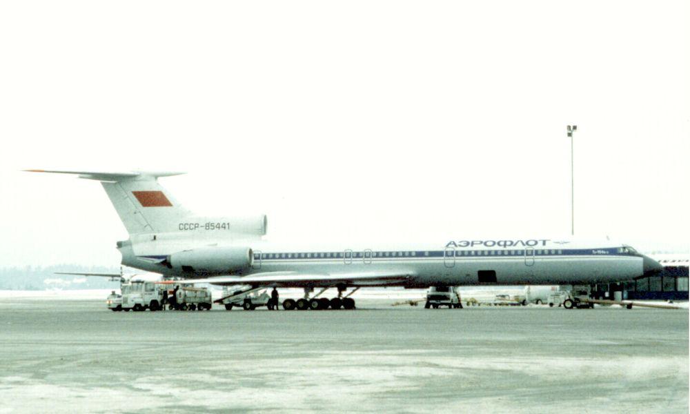 Det var et fly av denne typen, Tupolev TU-154, som styrtet i Svartehavet søndag.