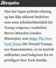 2016: Ikke så privilegert i Aftenposten.