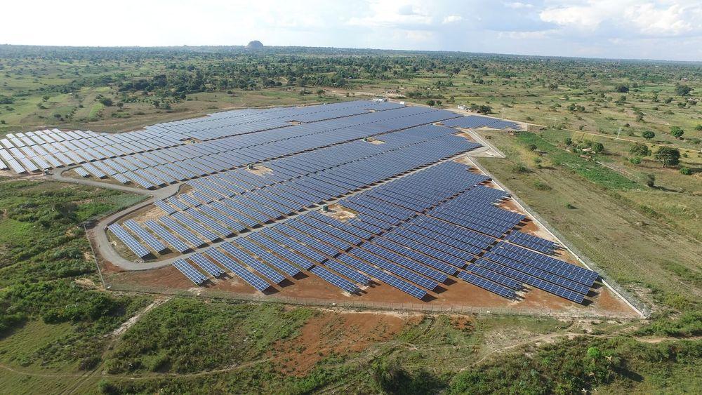 Øst-Afrikas største solkraftverk i Soroti i Uganda skal produsere nok strøm til 40.000 husstander.
