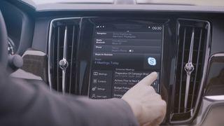 Volvos nye 90-serie får Skype integrert i dashbordet