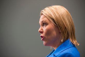 Innvandrings- og integreringsminister Sylvi Listhaug (Frp)