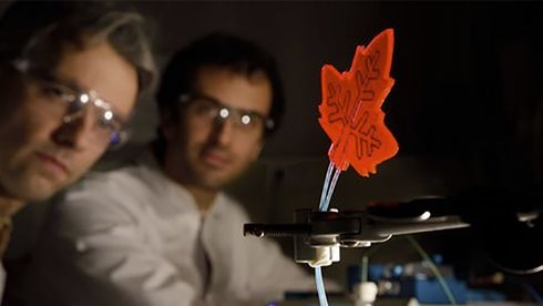 Dette kunstige løvbladet produserer medisin med sollys