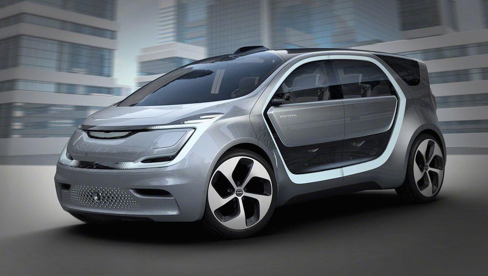Det lyser konsept lang vei av Chrysler Portal.