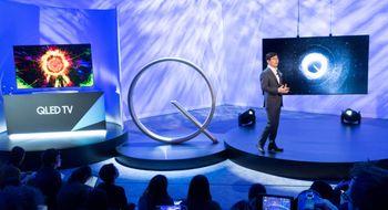 2000 nits! Her er Samsungs nye QLED-TV-er Vi fikk en smakebit på nyvinningene i Las Vegas.
