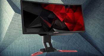 Tre lynraske spillskjermer fra Acer