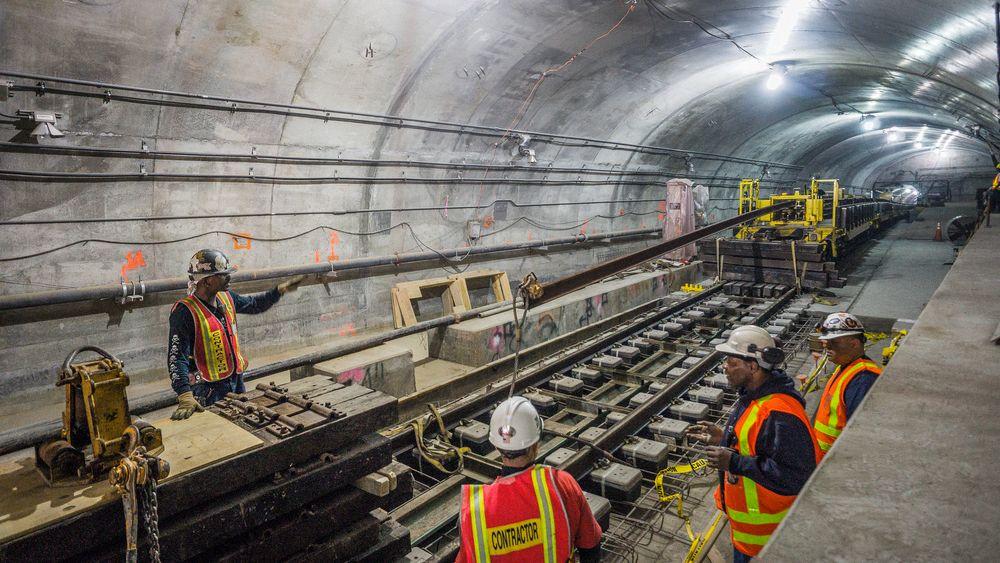 Byggearbeidet med den nye undergrunnsbanen i New York ble påbegynt allerede i 1972 og har tatt 45 år.