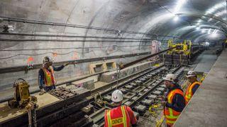 Det har tatt 45 år. Nå er den nye undergrunnsbanen i New York ferdig