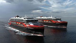 Hurtigruten og tysk verdensleder på luksusyachter redder Kleven