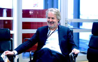 Torry Pedersen, nå publistisk direktør i Schibsted Media. Bildet er fra januar 2017.