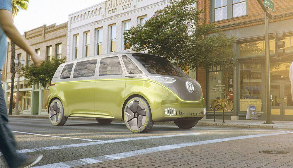 Volkswagen I.D. Buzz er et elektrisk minibusskonsept.