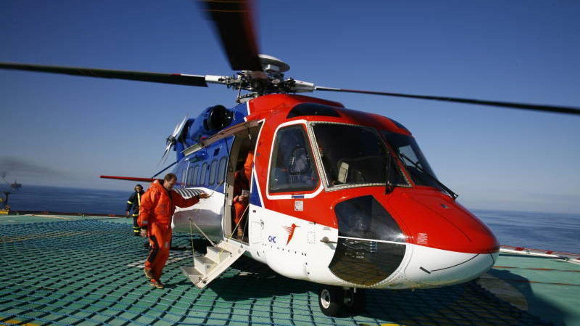 Nå er også Sikorsky S-92 satt på bakken. Bakgrunnen er en ulykke i Skottland i romjulen.