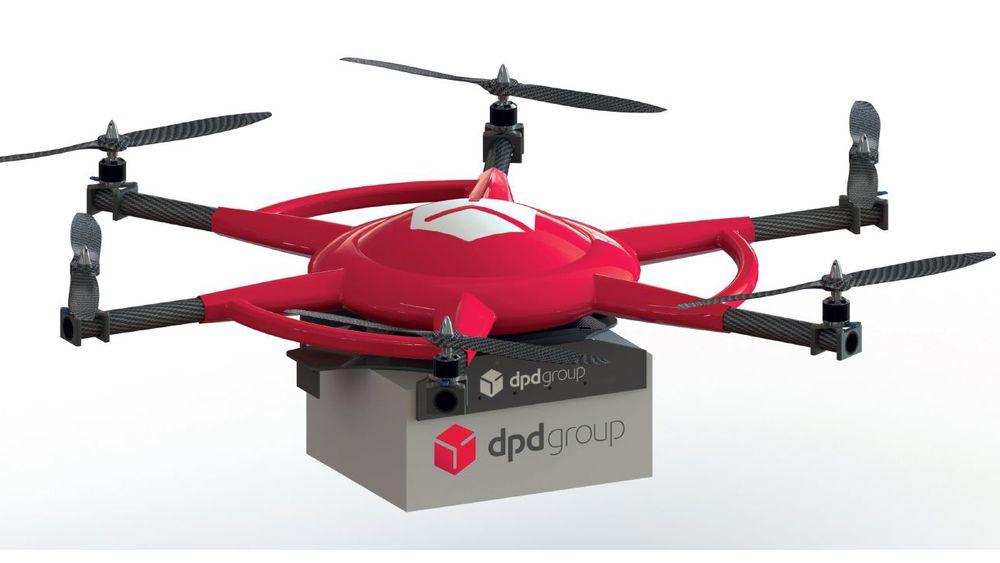 Postselskapet skal bruke en drone som kan frakte opp til tre kilo.