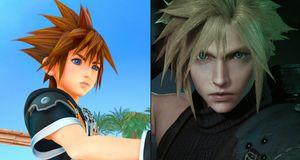 Kingdom Hearts III og Final Fantasy VII Remake er enda et stykke unna