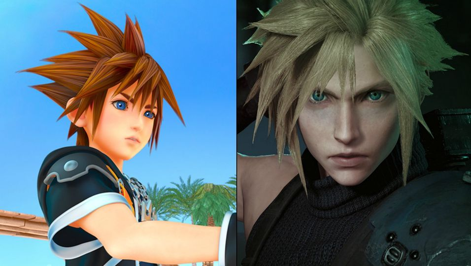 Kingdom Hearts III og Final Fantasy VII Remake er enda et stykke unna