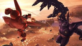 Big Hero 6-filmen får sin egen verden i Kingdom Hearts III.
