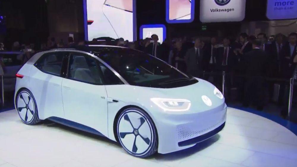 Volkswagen-elbilen I.D. er bygget på en ny elbilplattform MEB. Bilen skal produseres blant annet i Kina.