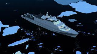 – Flaut for Norge å seile i sårbare Arktiske strøk med flunkende nye skip, men med dieselmotorer