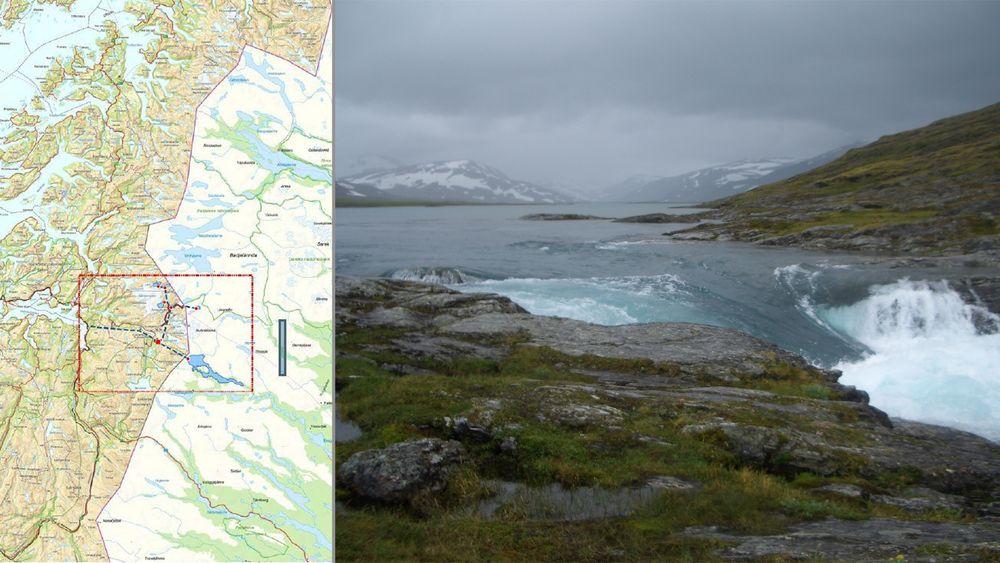 Lulesamer på begge sider av grensen ved Sulitjelma vil overføre svensk vann til norsk kjempekraftverk ved Sulitjelma.