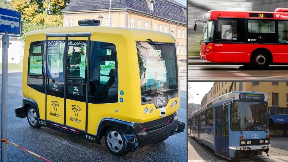 Ruter skal fase ut alt fossilt drivstoff mot 2020. I tillegg til det ønsker de å sette inn opp til 50 førerløse minibusser i Oslo og Akershus, for å se om dette er fremtidens løsning.
