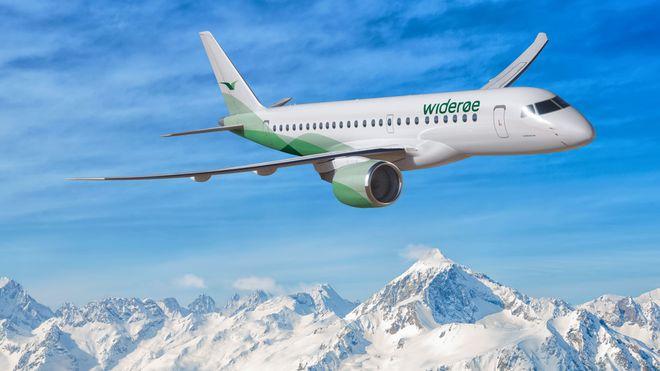 Widerøe blir blant de første med det nye brasilianske jetflyet
