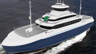 Fiskerstrand vil bli verdens første til å bygge en hydrogendrevet bil- og passasjerferge