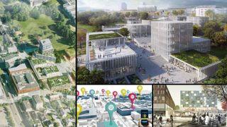 NTNU samles på ett sted: Her er forslagene til hvordan nytt campus skal se ut