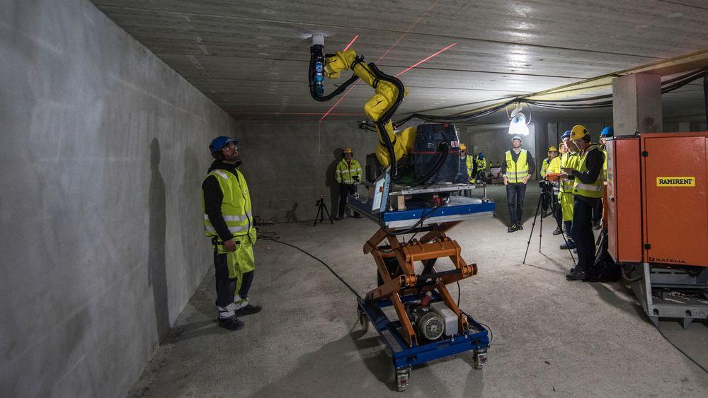 Boreroboten til nLkin er verdens første byggerobot. Nå ser gutta bak den på muligheten for å bruke den til flere formål.
