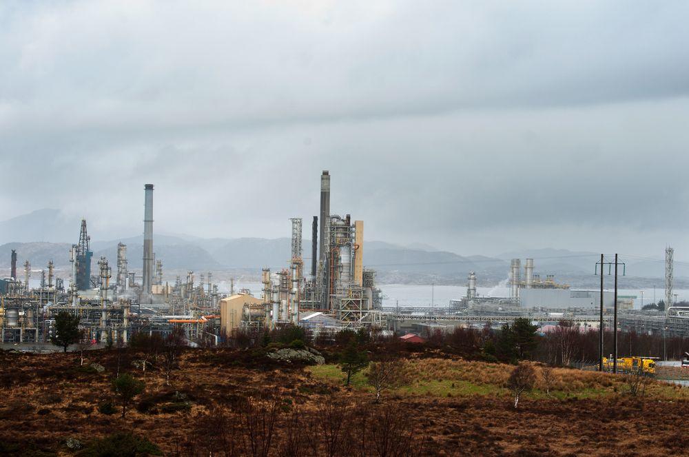 Hydrogenlekkasjen skjedde i oktober i fjor på Statoils oljeraffineri på Mongstad i Hordaland.