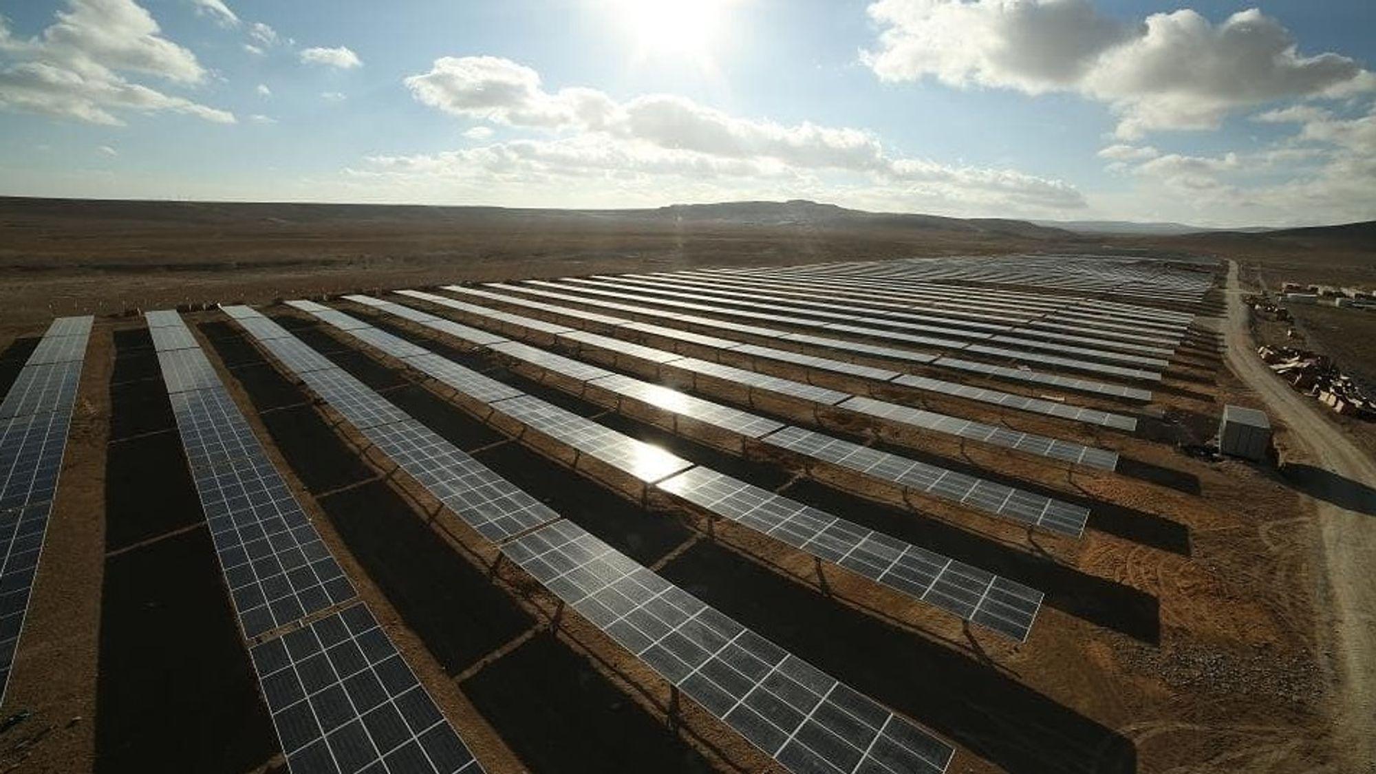 Scatec Solars Oryx solpark på 10 MW i Jordan åpnet i 2016.