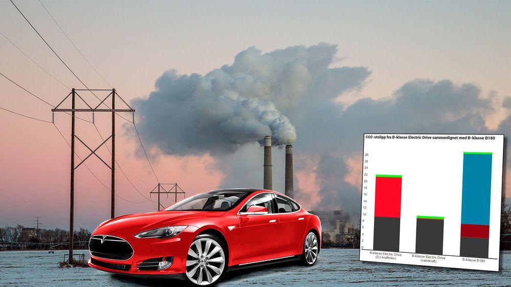 Er elbiler bedre for miljøet, og hvor mye utslipp står de egentlig for?