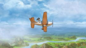 Vi vet ikke nøyaktig hva Colin ønsker seg i Finding Paradise, men det kan tenkes det har noe med flying å gjøre.
